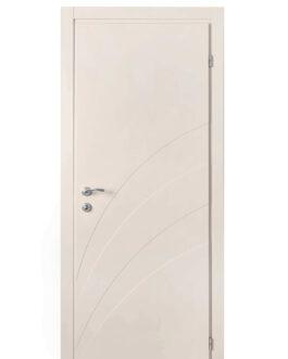 דלת פולימר שמנת דגם – Wave