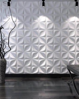 חיפוי קיר תלת מימדי דגם Aryl בגודל 50X50