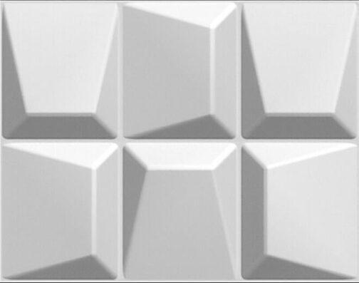 חיפויי קיר תלת מימדי דגם Moasics בגודל 62.5_80 ס_מ