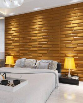 חיפוי קיר תלת מימד דגם Sandstone בגודל 80X62.5