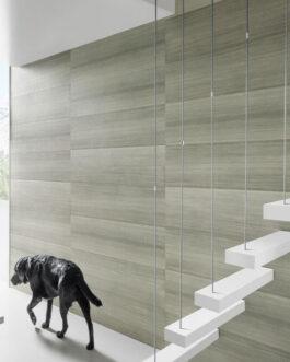 חיפוי קירות פולימרי 100% עמיד במים Kerradeco דגם Silver Wood