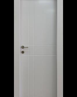 דלת פולימר לבן דגם – Desert סמר